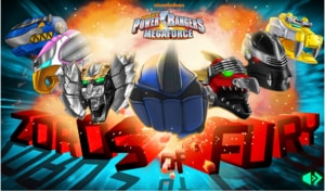 Megaforce Zords Of Fury